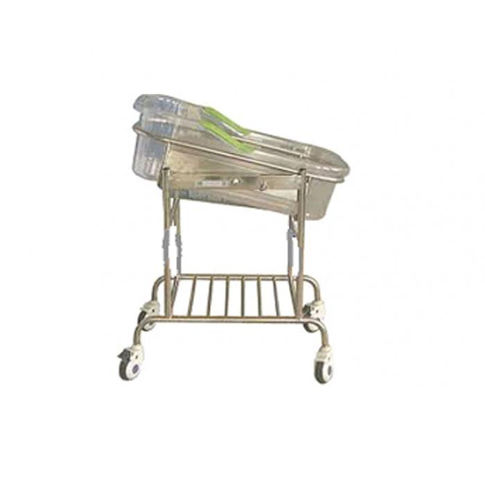 Infant Bed / Child Cot with Plastic Moulded Crib