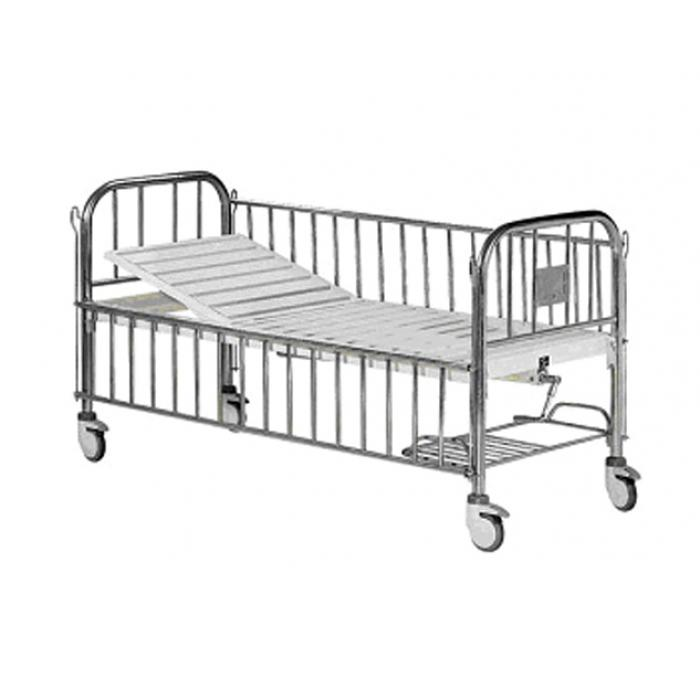 Semi-Fowler Bed For Children, with Side Railings