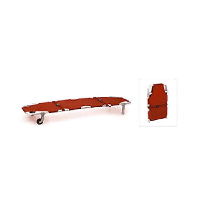 Stretcher Single Fold With Two Wheels