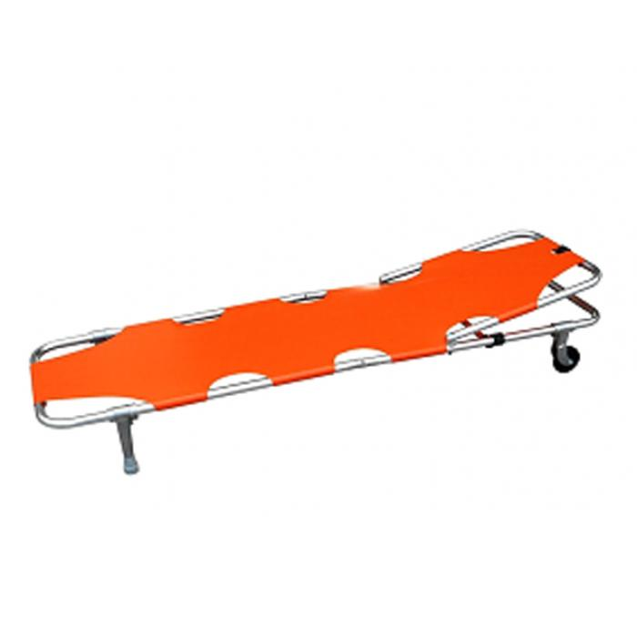 Stretcher Single Fold with Adjustable Back Rest